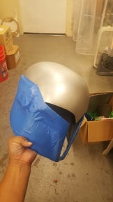 Sabine Wren helmet build mask silver