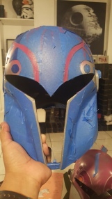 Sabine Wren helmet build mask eyes