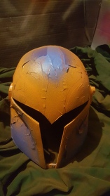 Sabine Wren helmet build orange