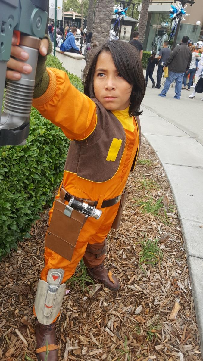 Rogue Rebels Costume Journey: Ezra Bridger, Part 2
