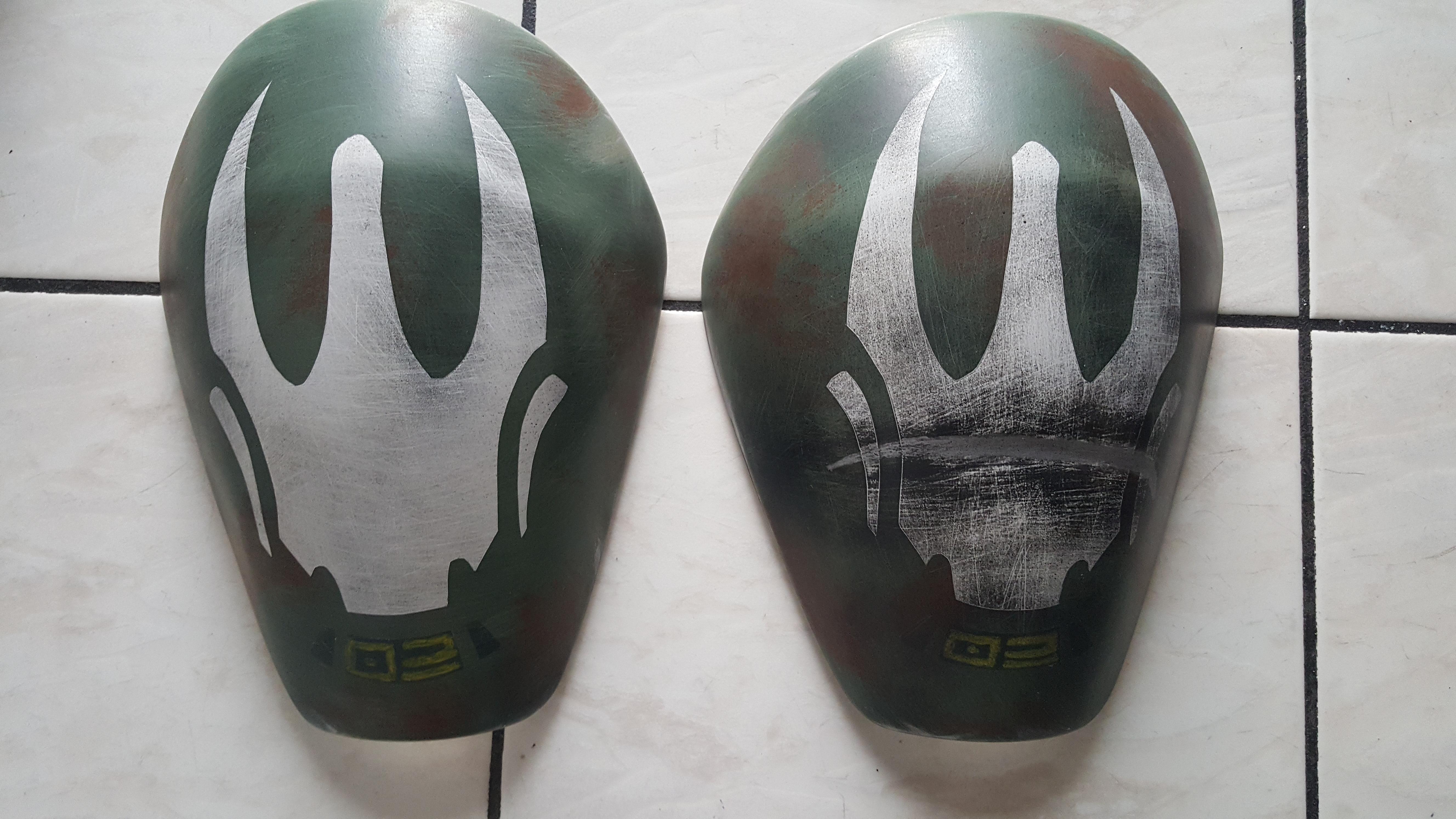 Kanan Jarrus shoulder KW Designs paint