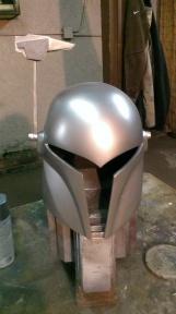 Sabine Wren build helmet silver