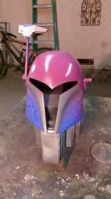 Sabine Wren build helmet painting