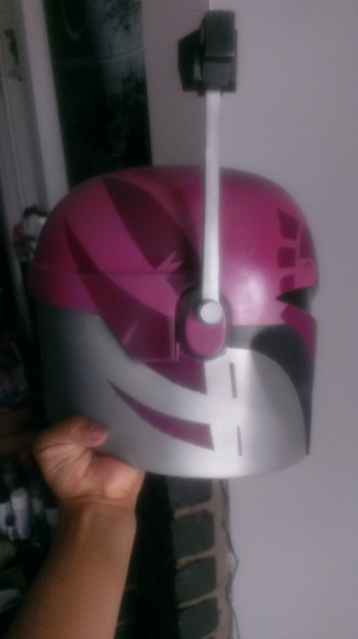 Sabine Wren build helmet wings