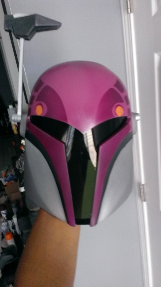 Sabine Wren build front maroon