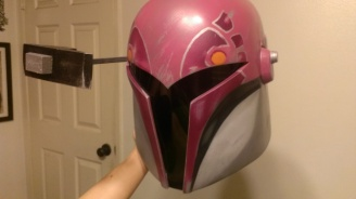 Sabine Wren helmet build RF down
