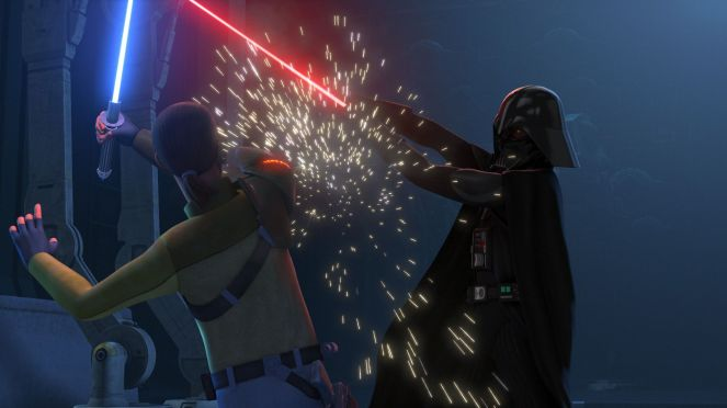 Kanan Vader damage
