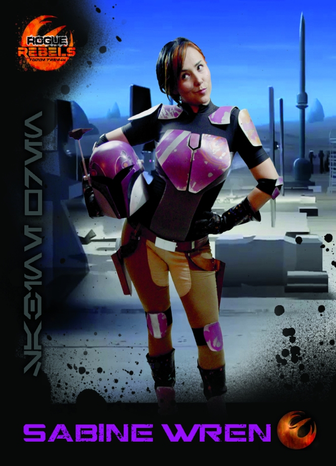 Rogue Rebels Costume Journey: Sabine Wren, Part 1 – The ...