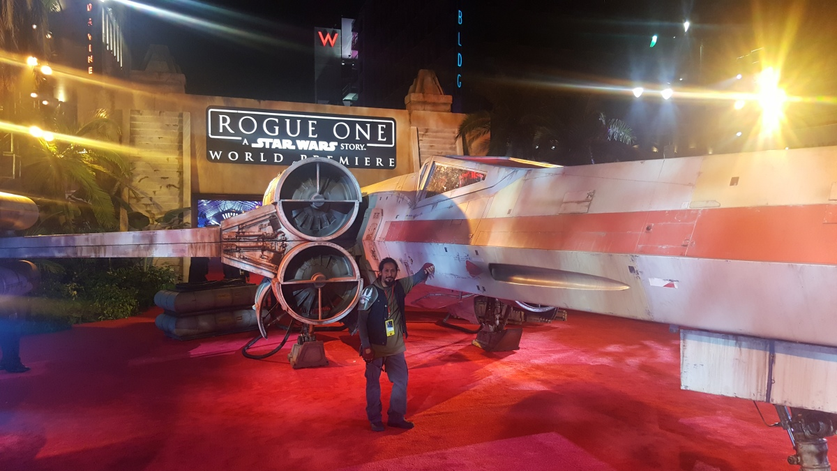 Star Wars Rogue One World Premiere!