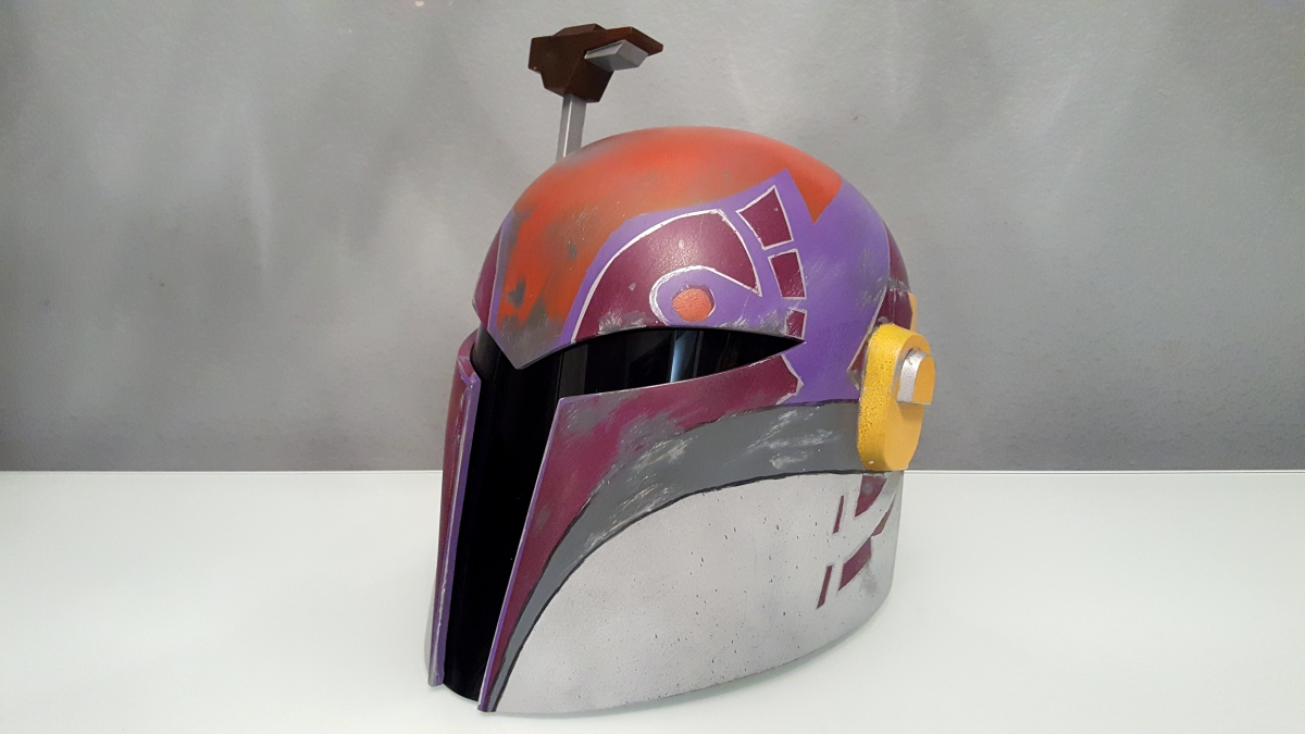 Rogue Rebels Costume Journey: Sabine Wren, Part 3
