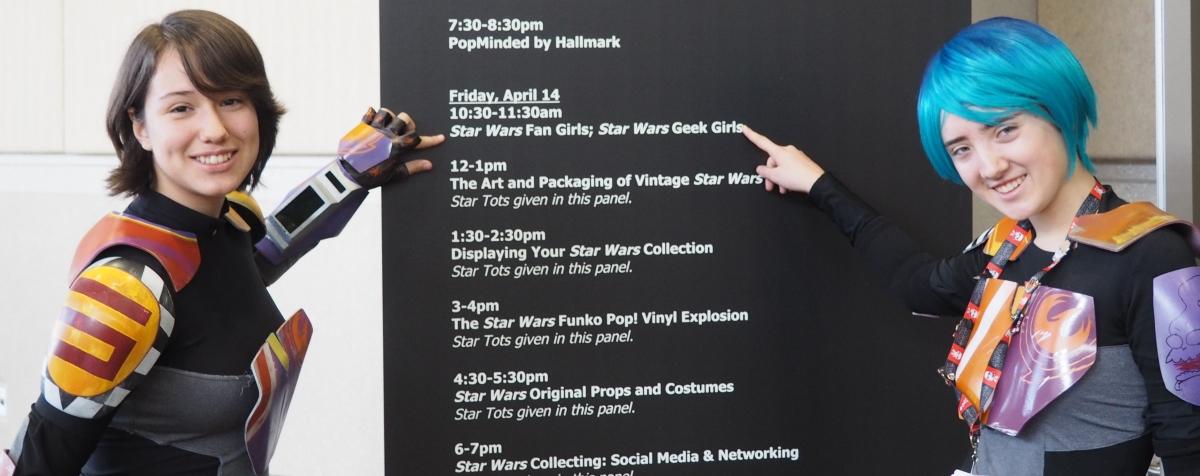 star wars geek girl panel at swco the rogue rebels