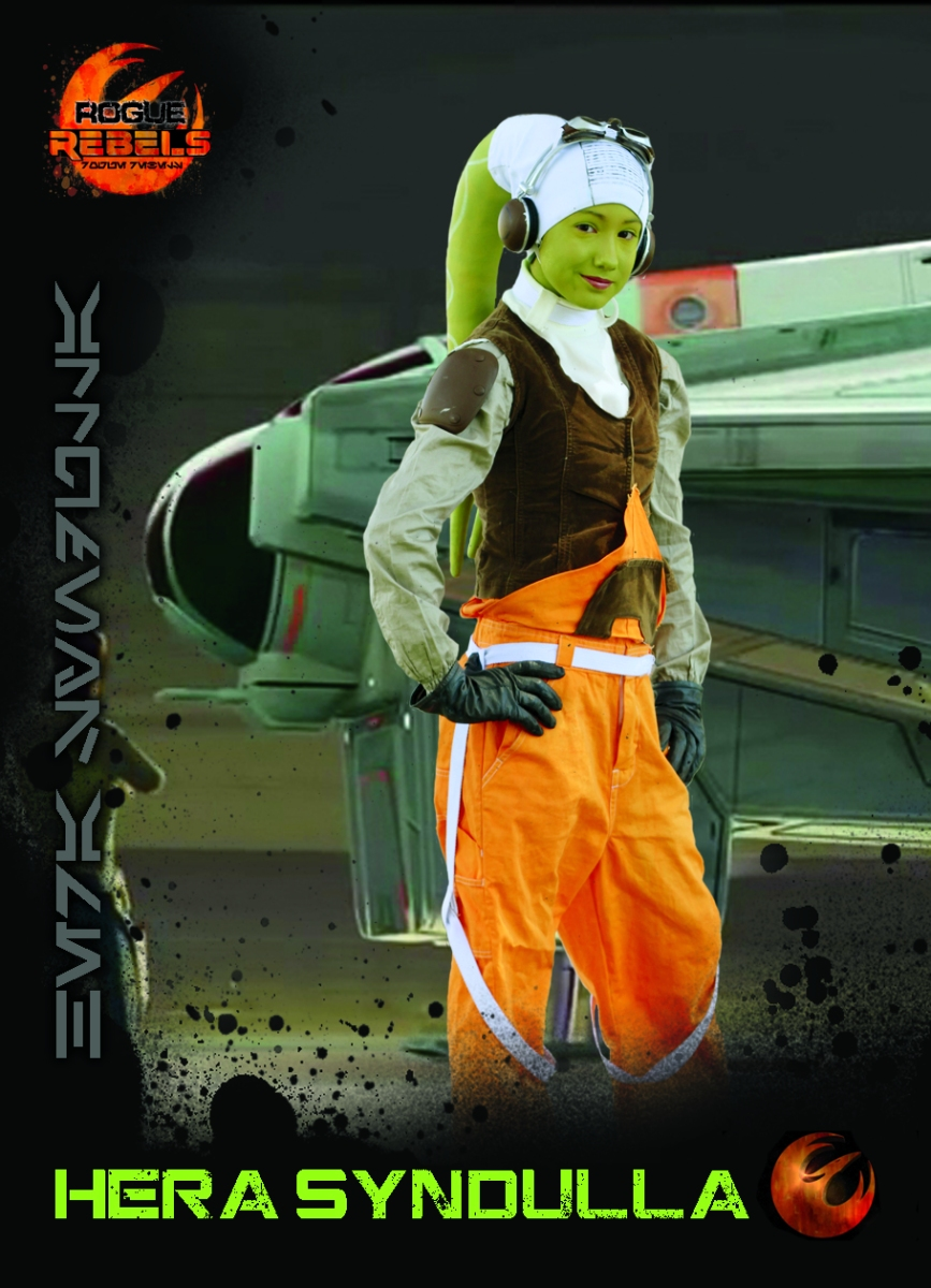 Rogue Rebels Costume Journey: Hera Syndulla, Part 1