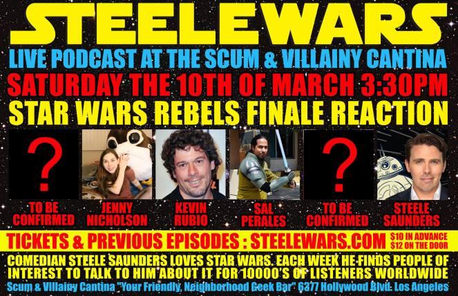 Steele Wars LIVE Rebels pod